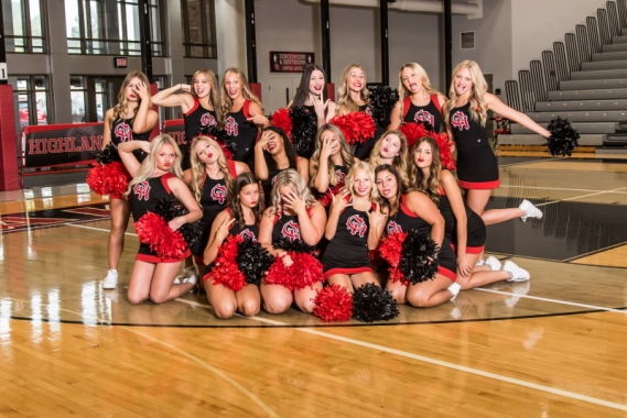 2021 OHHS Varsity Cheer Fun Picture.