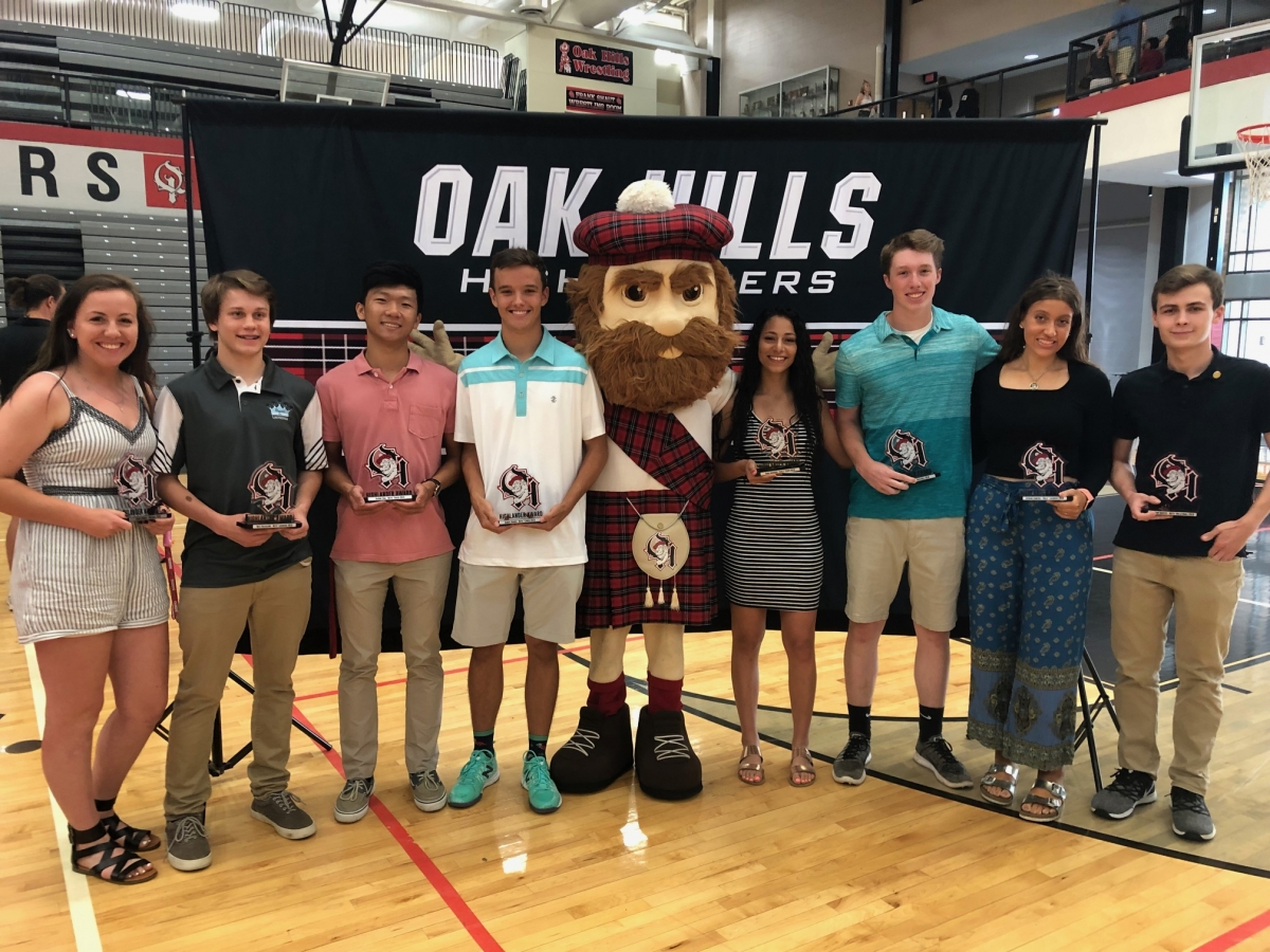 Spring Highlander Award Winners
