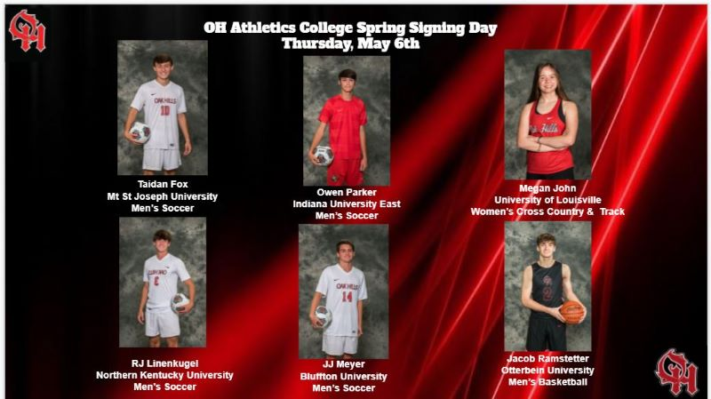 Senior Signing Day Athletes, May 6th (2 of 3)