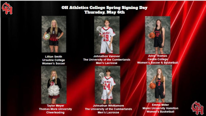 Senior Signing Day Athletes May 6th (3 of 3)