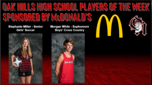 McDonald's Players of the Week, Stephanie Miller and Morgan White